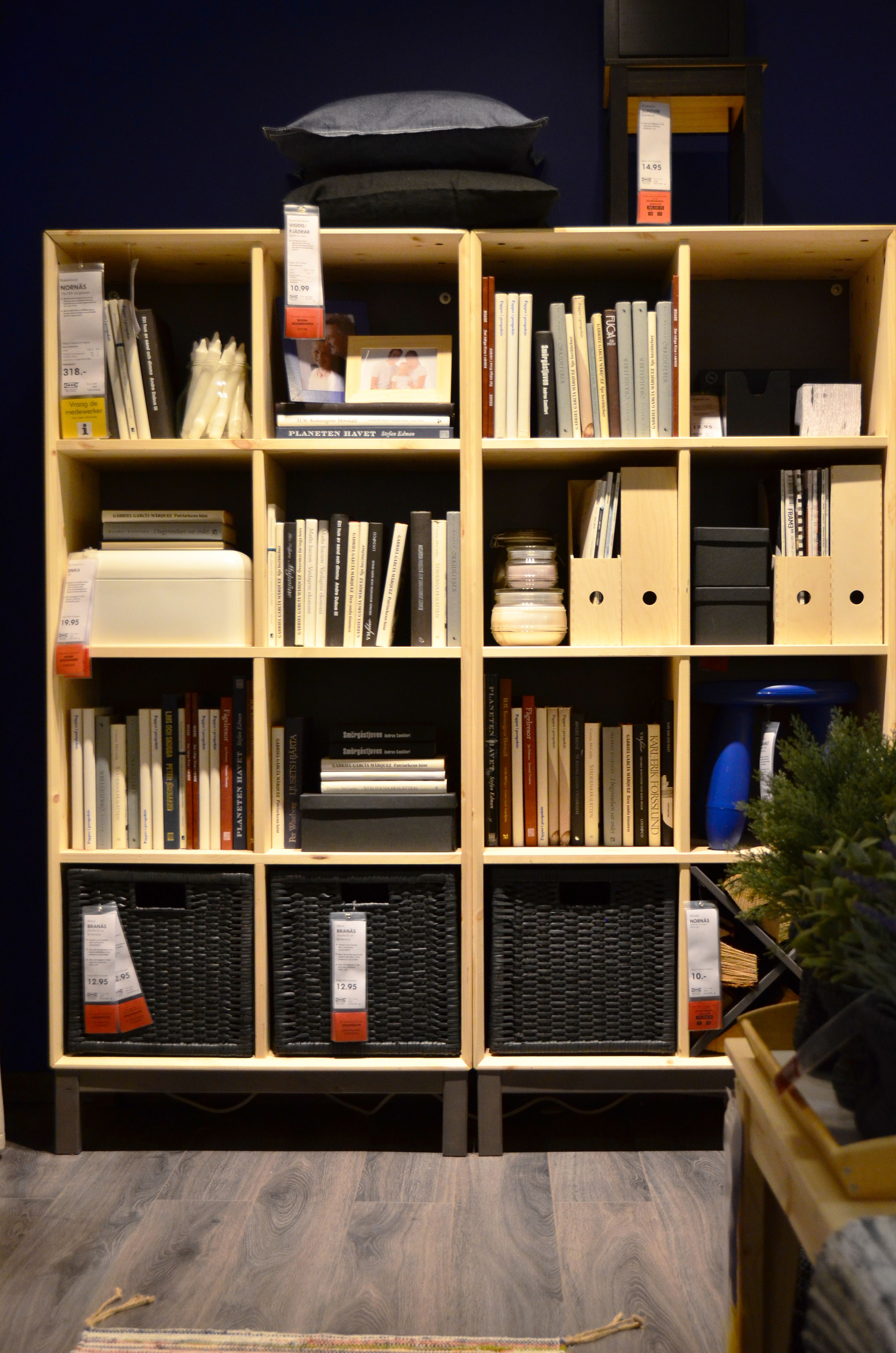 ikea delft   nornÄs bookcase   store and organise   www.ikea
