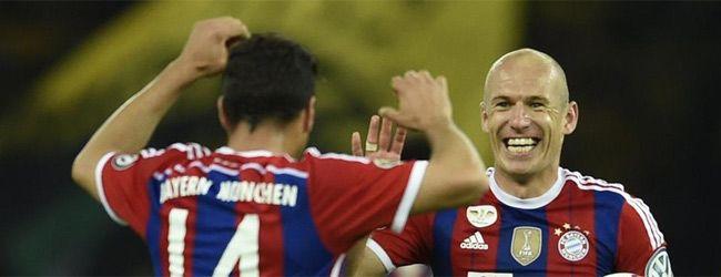 El Bayern de Guardiola logra el doblete