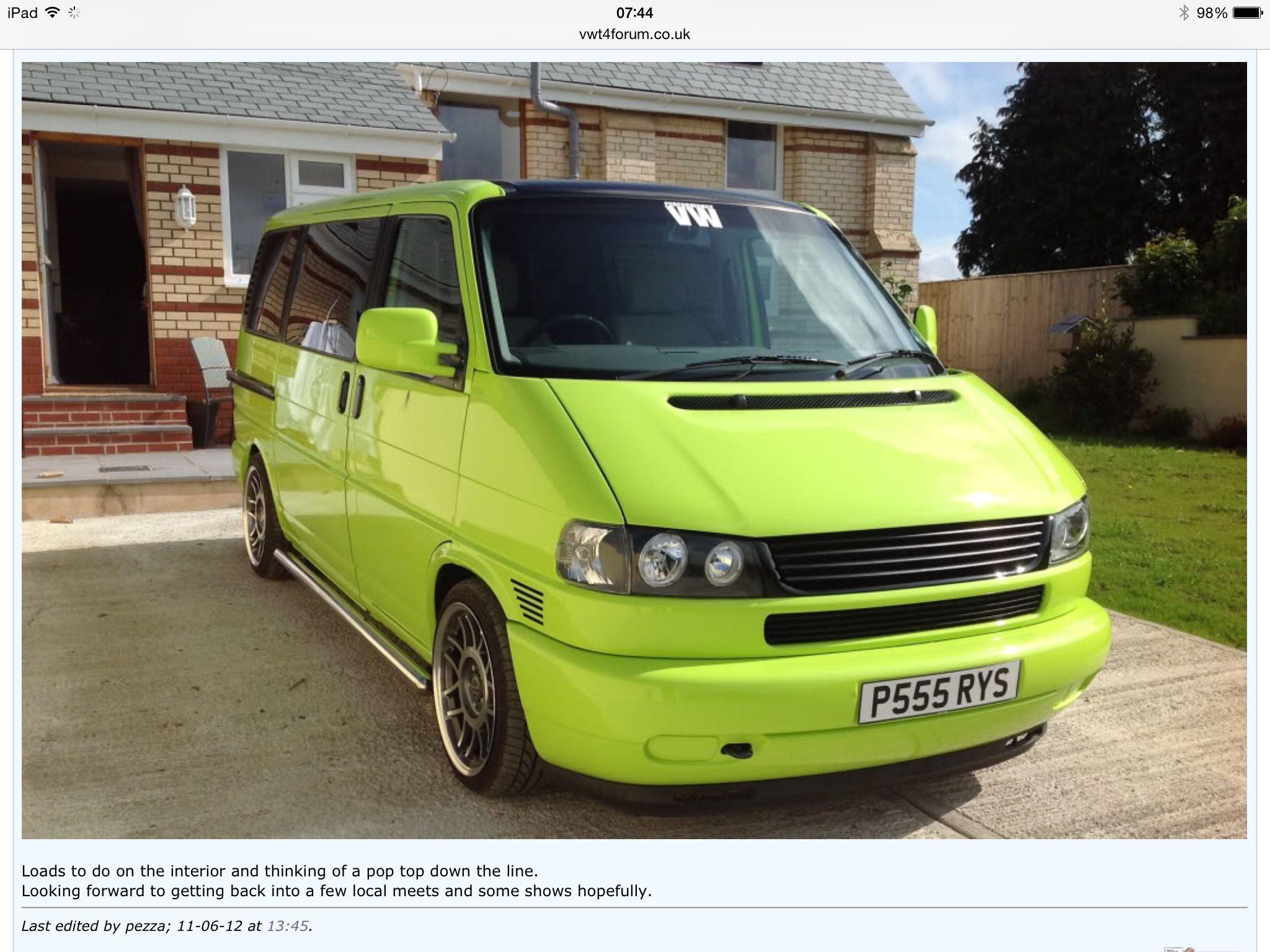 vw t4 green t4 vw t4 transporter vw caravelle. Black Bedroom Furniture Sets. Home Design Ideas
