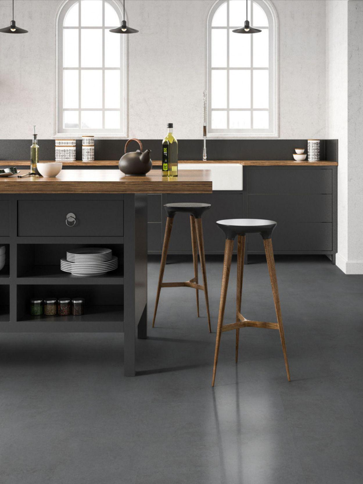 klick-vinyl-designbelag in 2020 | design, küchenboden
