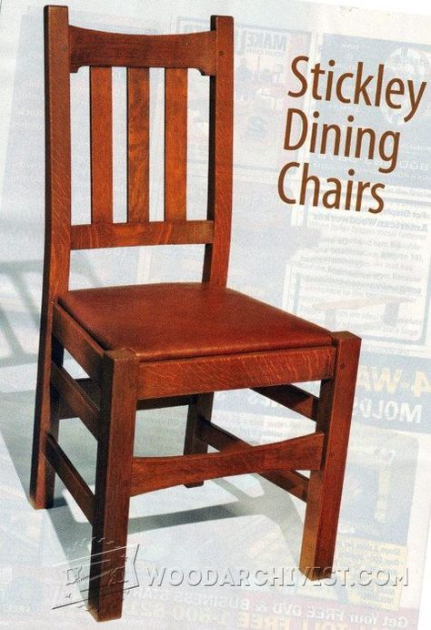 Genial Stickley Chair Plans   Furniture Plans And Projects | WoodArchivist.com