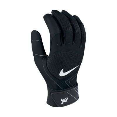 Nike N1 Fuse Baseball Batting Gloves - Black