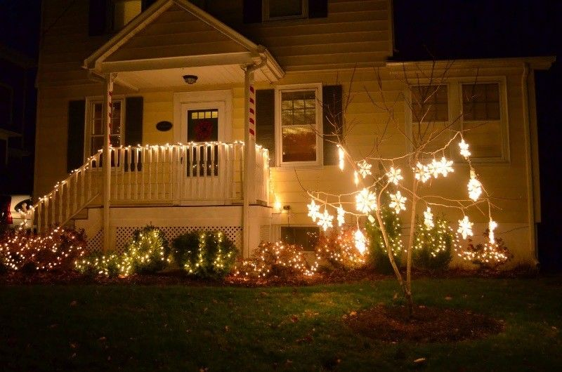 98 magical christmas light decoration ideas for your yard 2018