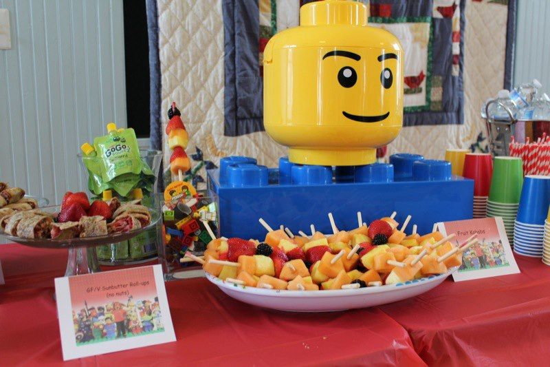 lego birthday party ideas diy lego theme . Food, decor and party ...