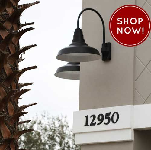 Outdoor Gooseneck Light Fixture Gorgeous Gooseneck Lights Over Sign  Google Search  Exterior Signs Inspiration