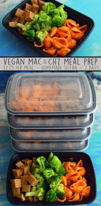 Vegan mac and cheese meal prep tons of veggies 7 days healthy vegan mac and cheese meal prep tons of veggies 7 days healthy forumfinder Gallery