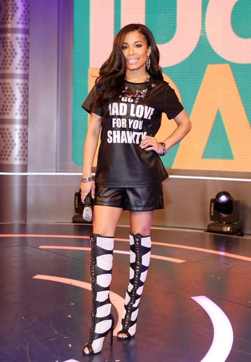#tbt to the kick ass Keshia Chante in our KATO mesh boots <3