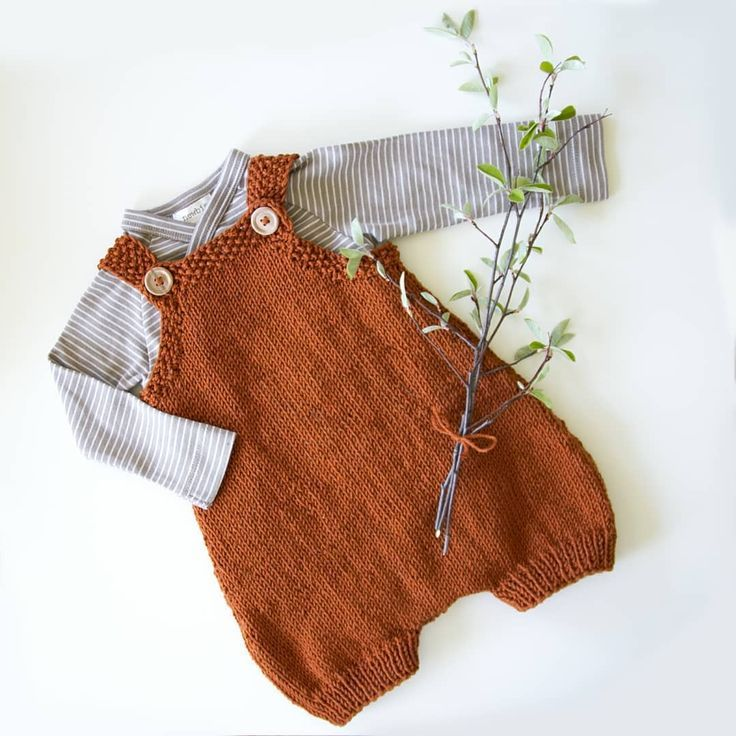 Photo of Newborn overall, mustard, knitted baby clothes, baby clothes, baby fashion, w …