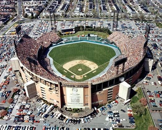 Birds Eye View Of Memorial Stadium 1970s As Seen From The Baltimore Police Helicopter Mlb Stadiums Baseball Park Stadium