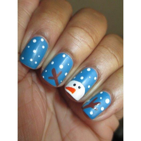 25 Most Beautiful and Elegant Christmas Nail Designs Christmas ...