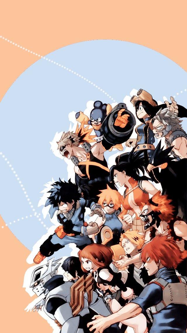 Pin By Savannah Rain Navarrete On Anime Hero Wallpaper Hero Anime All anime wallpaper iphone
