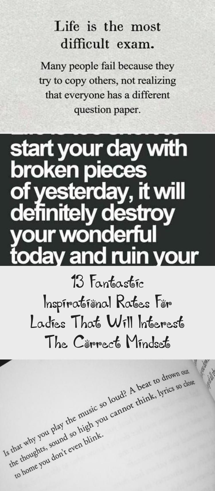 13 Fantastic Inspirational Rate For Ladie That Will Interest The Correct Mindset Quote Aesthetic Feminist Different Quotes What Do You When Paraphrase Something