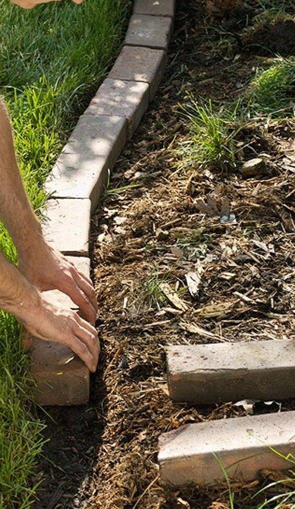 Garden Edging Garden Lawn Edging Brick Garden Garden 640 x 480