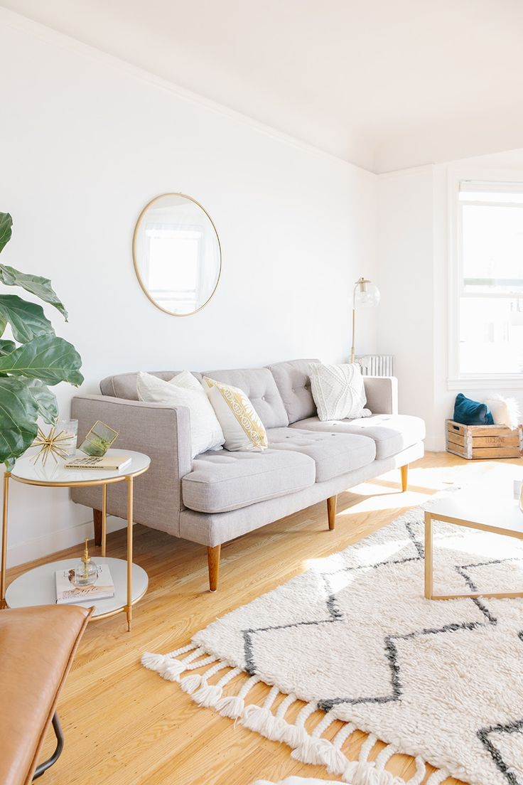 Step Inside the Chic, Light-Filled Apartment of Poshmark's ...