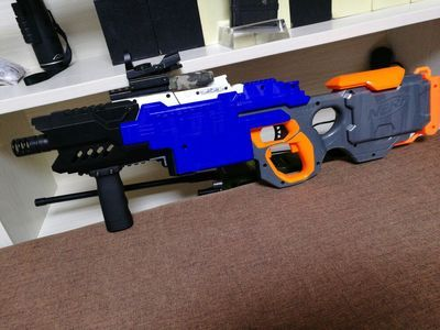 Nerf Super E E B7661 super fine before upgrade kit tube 3D printing -  Taobao…