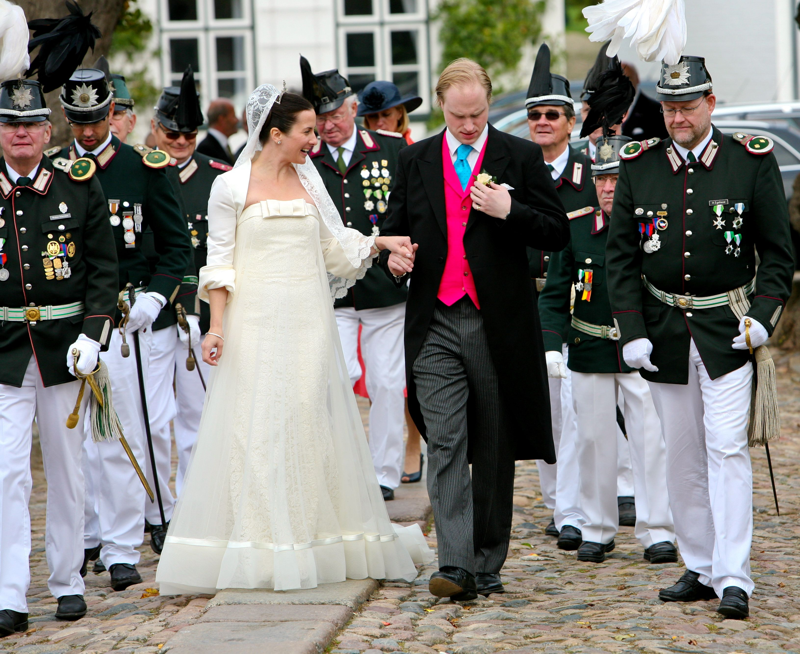 Royal wedding of Princess Chantal & Prince Ludwig zu Ysenburg and