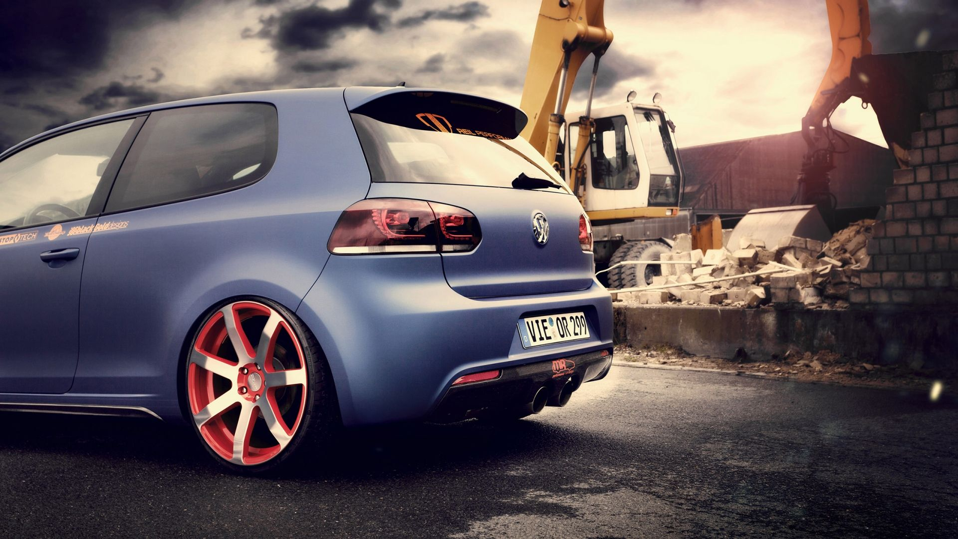 volkswagen golf wallpaper | das vw polo/golf | pinterest