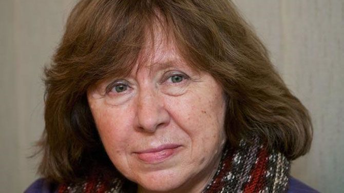 Favoriet Svetlana Aleksijevitsj Wint Nobelprijs Literatuur