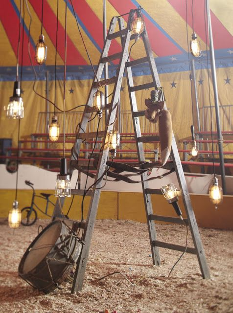 Theres Plenty Of Ordinary Stuff In The Barn Like This That Could Be Thrown With More Conventional Circus Decor