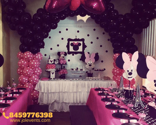 Balloon Decoration Hd Images Minnie Mouse Theme Party