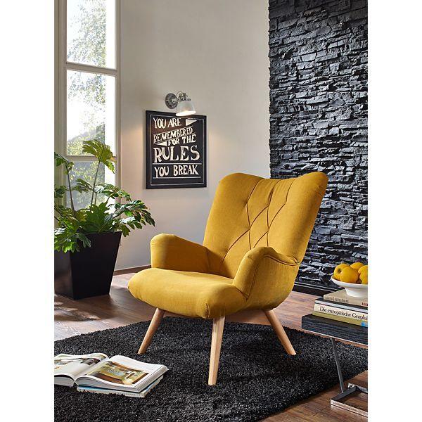 Sessel Senfgelb yendoo sessel spacy gelb wohnen und einrichten