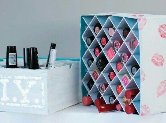 make up aufbewahrung organizations pinterest makeup storage diy und makeup organization. Black Bedroom Furniture Sets. Home Design Ideas