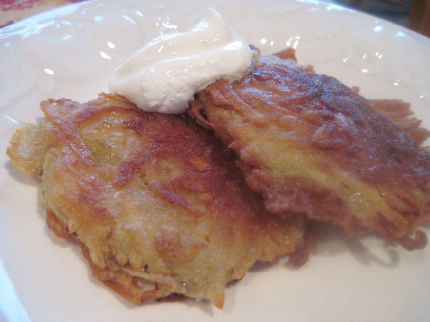 Potato Pancakes | Moore or Less Cooking Food Blog