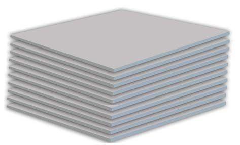 "RC Powers Gear - 6mm 1/4 Case White Depron 27.5"" x 39"" - 5 Sheets #PickDeck"