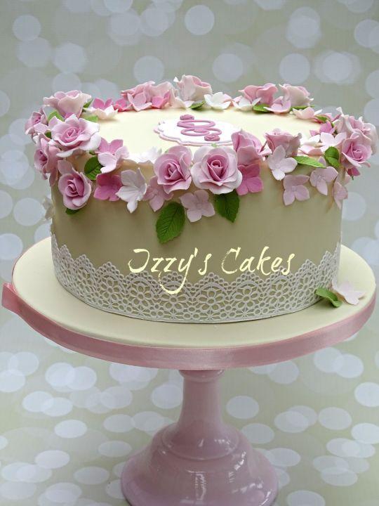 Image result for floral birthday cake Gemma Smash Pinterest 90