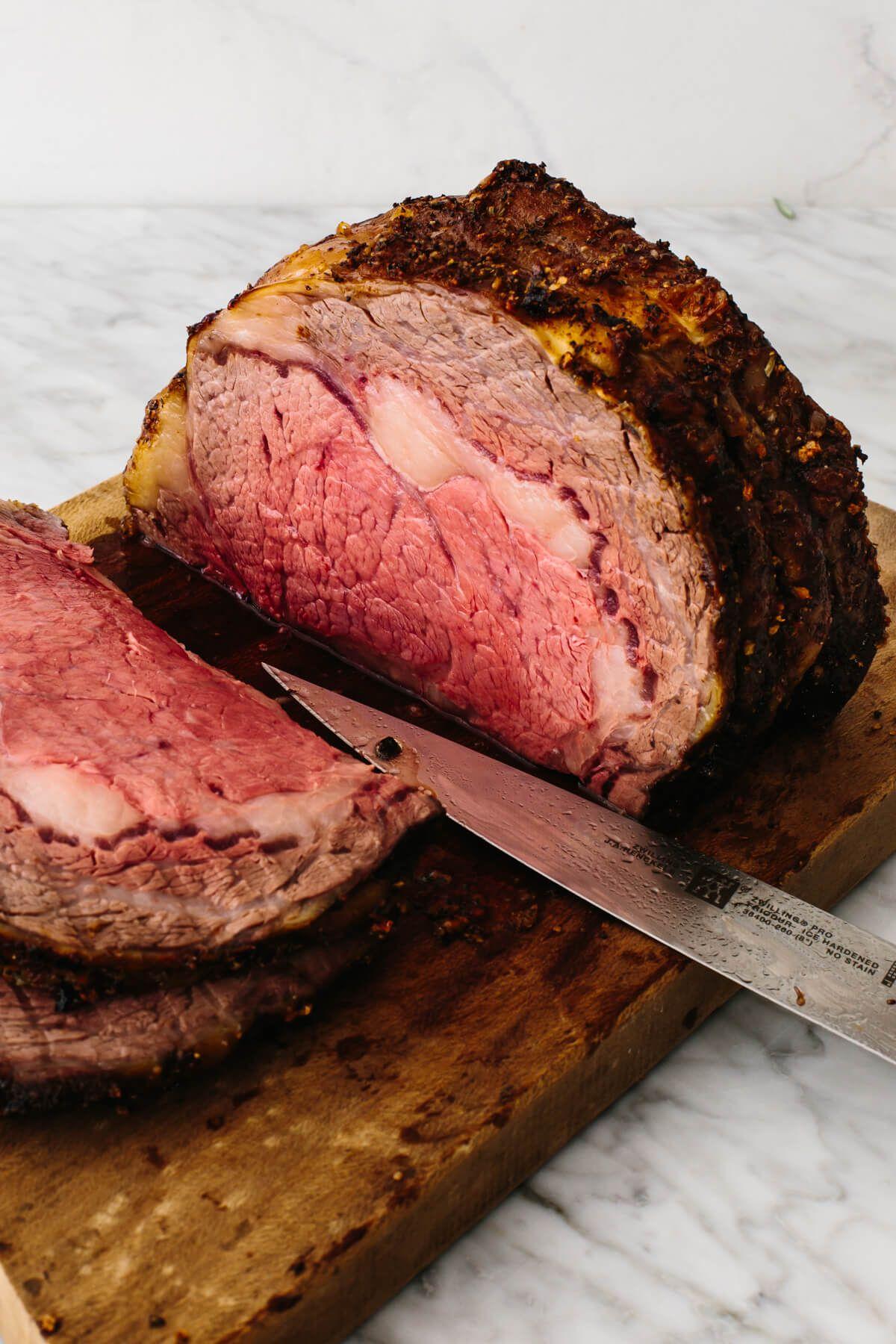 Reverse Sear Prime Rib In 2020 Best Roast Beef Recipe Best Beef Recipes Beef Recipes