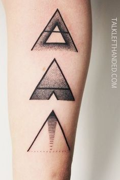 The bottom triangle is pretty cool