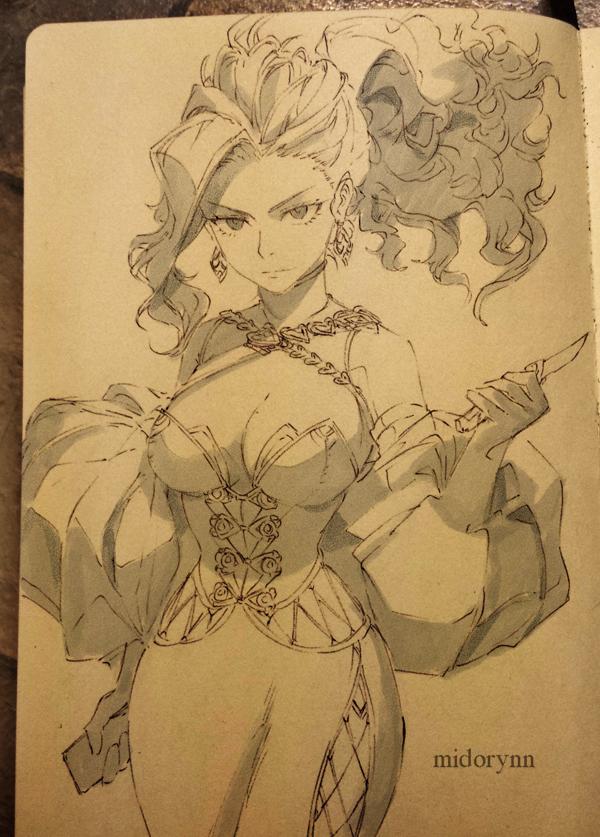 Character Momo Yaoyorozu Traditonal Art By Midorynn In