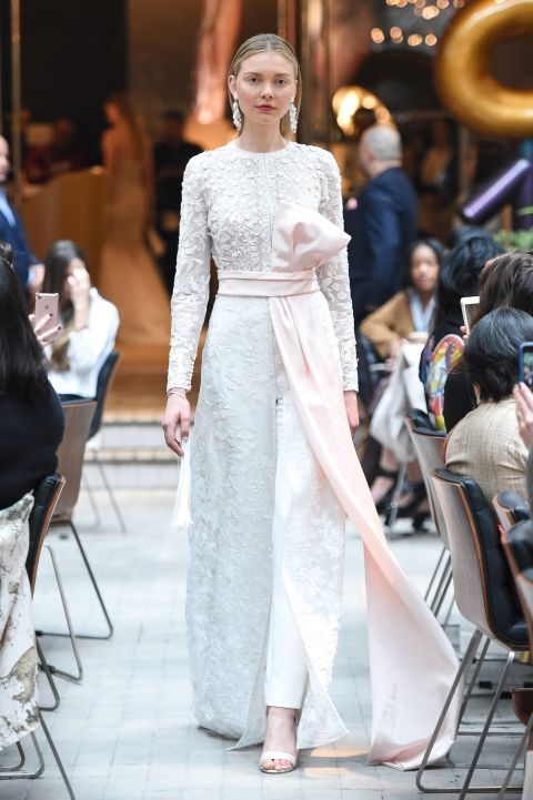 14 Dreamy Looks from Bridal Fashion Week That'll Make Your Heart Skip a Beat