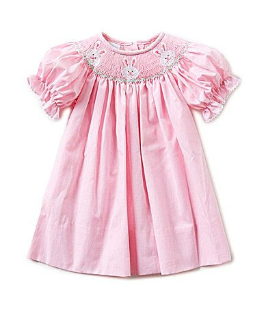 Edgehill Collection 324 Months Easter Bunny Face Dress Dillards