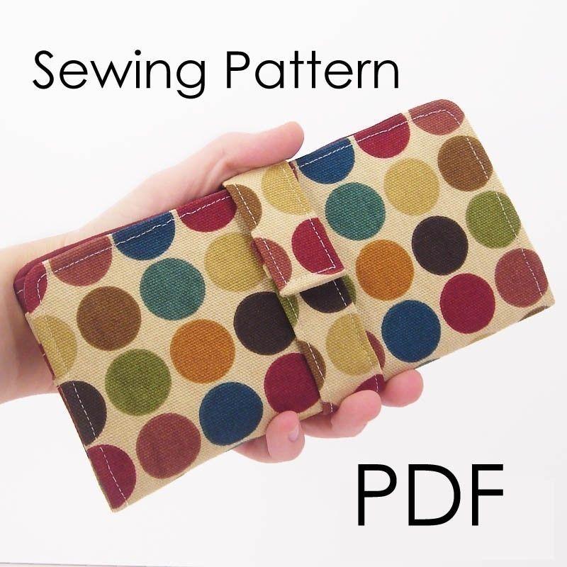 A Girl\'s Best Friend Wallet PDF Sewing Pattern