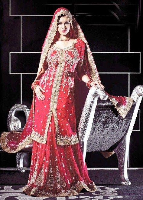 Pakistani Muslim Wedding Dress