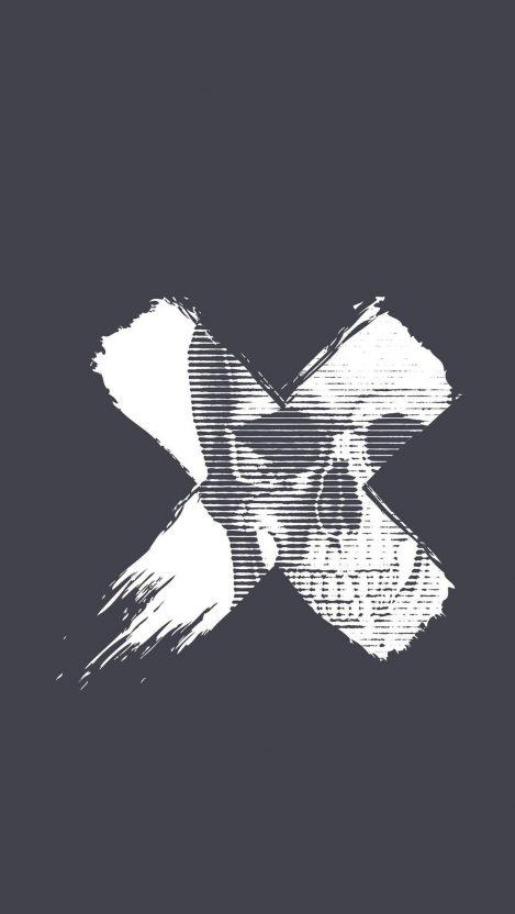 Skull X Iphone Wallpaper Free Getintopik Geometric Wallpaper Iphone Skull Wallpaper Skull Wallpaper Iphone