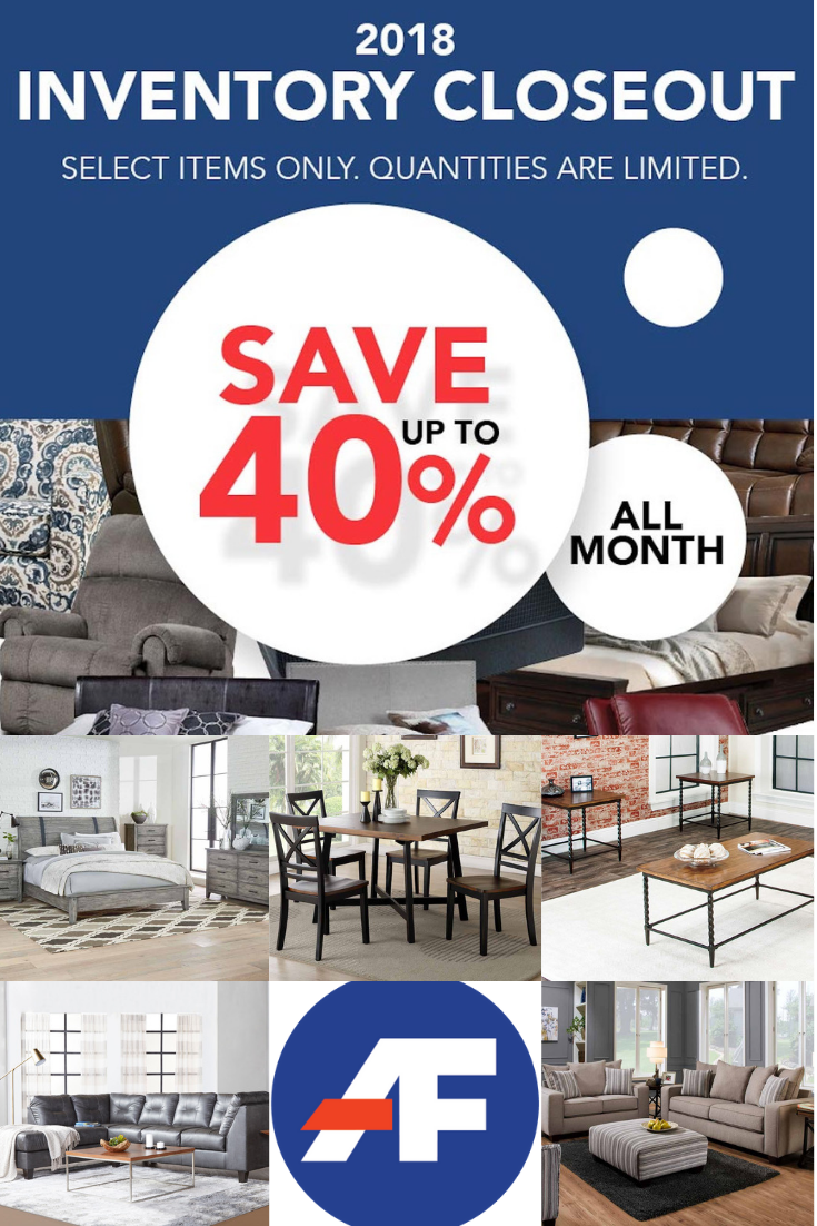 Closeout Furniture At Great Savings Of Up To 40 Available Now