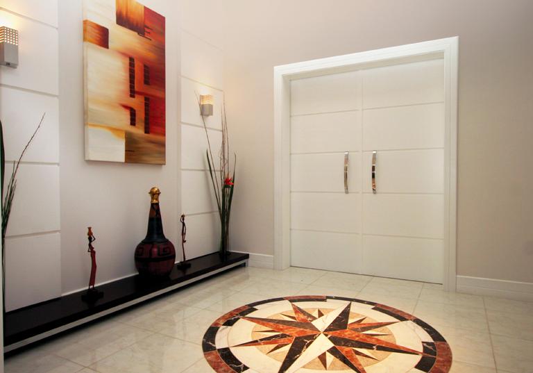 50 hall de entrada de casas modernas veja dicas de como - Como decorar una entrada ...