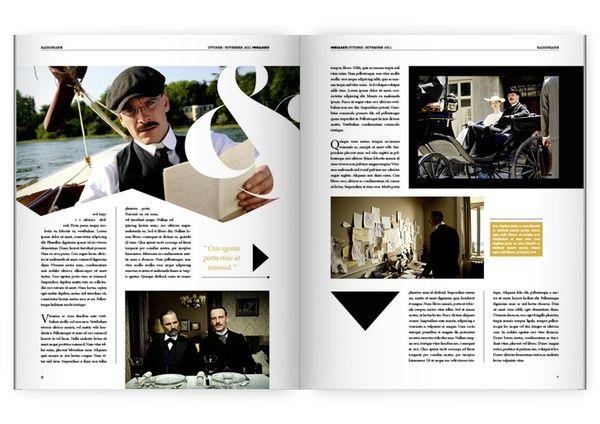 Magazine Inspiration 3 I Chose This Final Magazine Spread As Inspiration Graphically