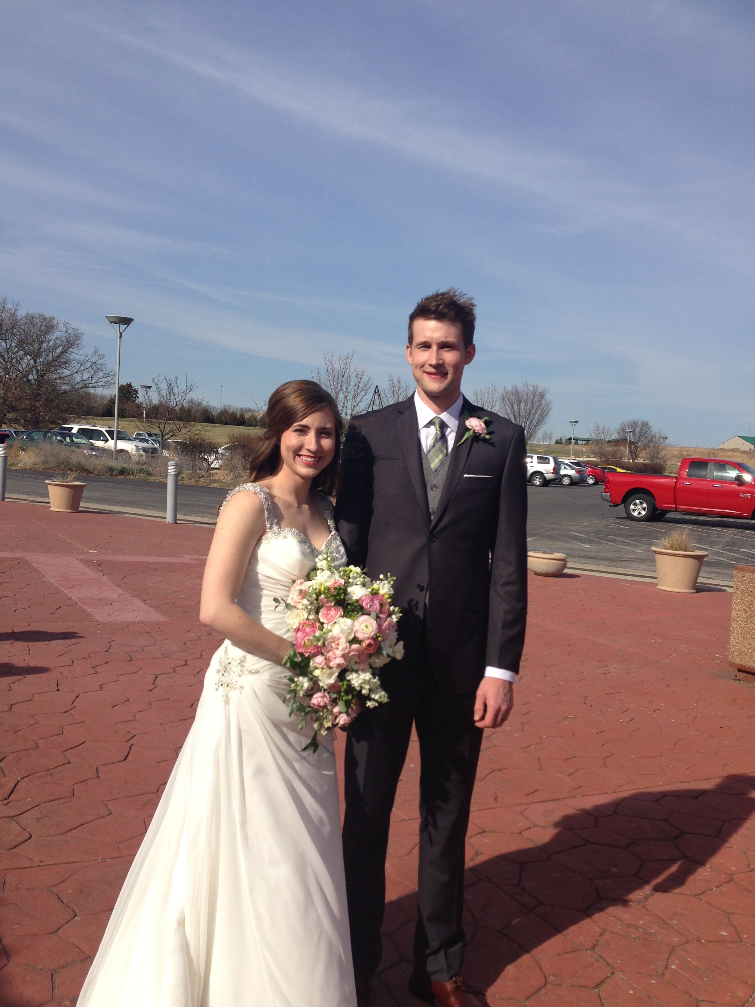 Congrats to Chris and Katie who were married at #QuailRidgeLodge on 3-21-15