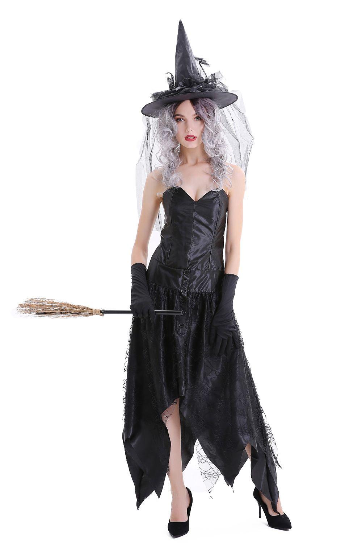 Halloween Black Queen Cobweb Tube Dress Dresses Tube Dress Nice Dresses [ 1500 x 1000 Pixel ]