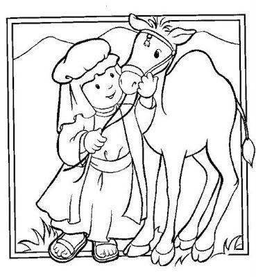 Los niños y la Biblia: Láminas Bíblicas para colorear | clases ...