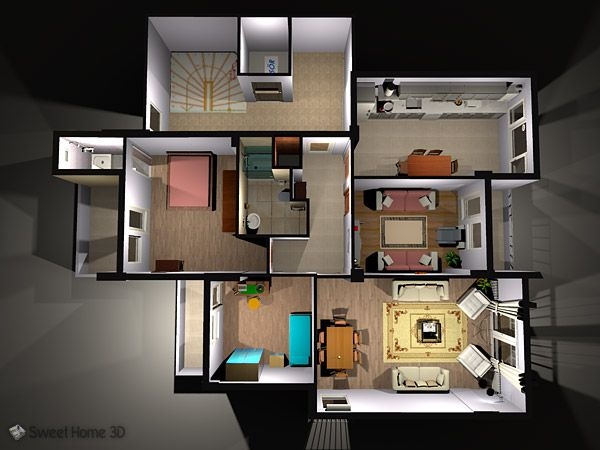 Sweet Home 3D - Draw floor plans and arrange furniture freely shed