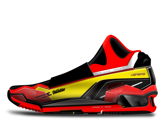 Lamborghini Veneno Concept Shoes By Objclothing By