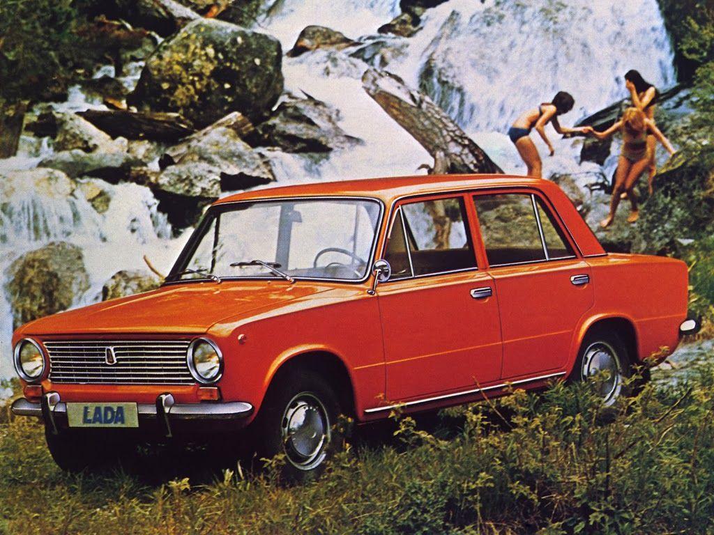 Soviet cars in advertising photos 15