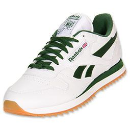 men's reebok classic leather ripple casual shoes  classic