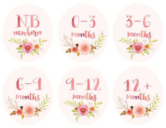 picture about Printable Clothing Labels named Boy or girl Lady Baby Apparel Printable Tags Labels via
