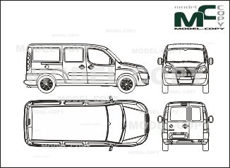 Fiat doblo cargo maxi closed 2006 blueprints ai cdr cdw dwg fiat doblo cargo maxi closed 2006 blueprints ai cdr malvernweather