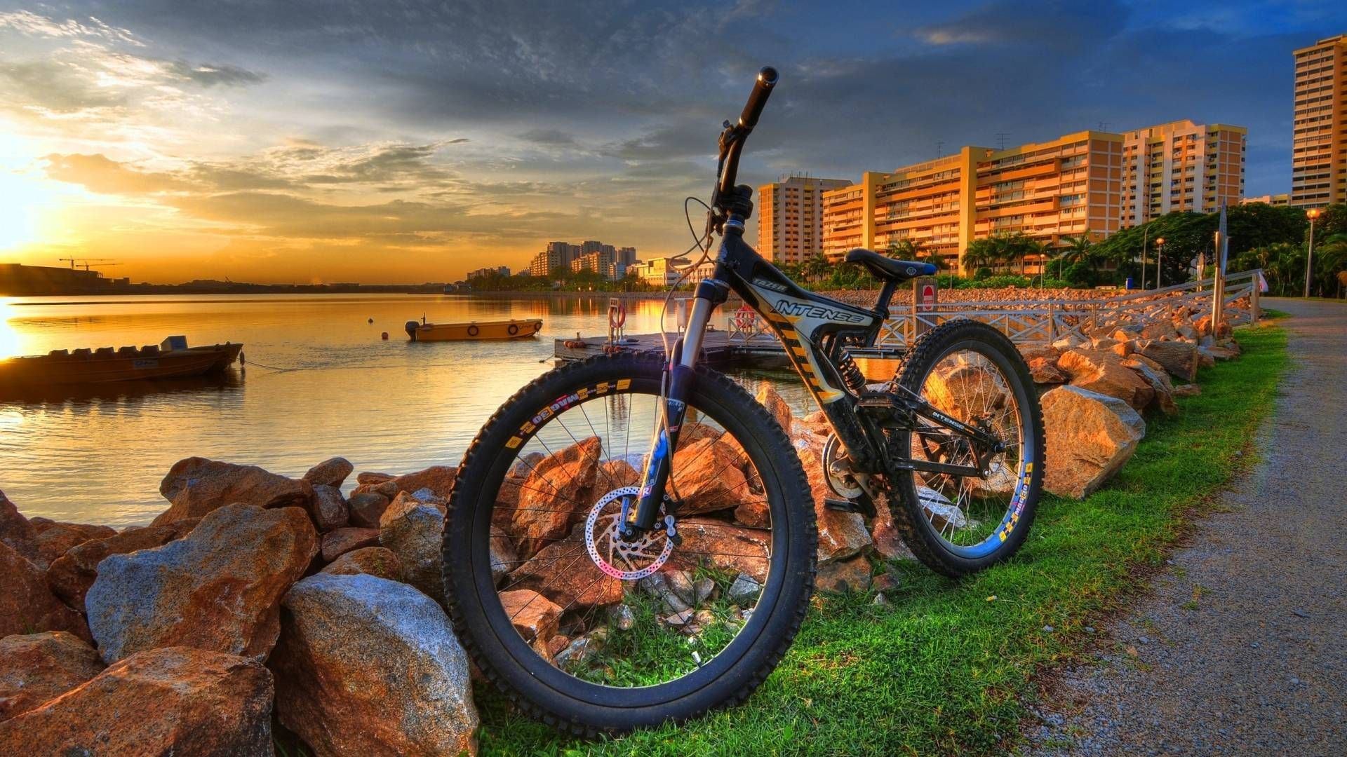 Pin By Buu Dang On Iphone 6s Plus Wallpapers Must To Have Bicycle